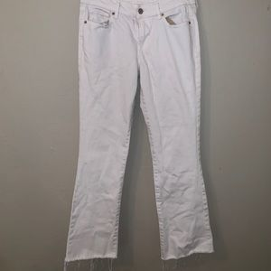 White Old Navy Cropped pants